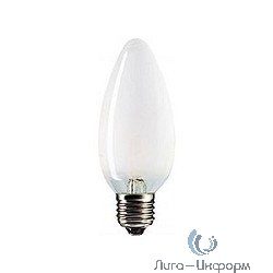 056467 Лампа накаливания Philips B35 40W E27 230V свеча FR