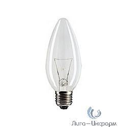 056696 Лампа накаливания Philips B35 40W E27 230V свеча CL