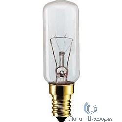 250056 Лампа накаливания Philips T25L appliance 40W E14 230-240V для вытяжек CL