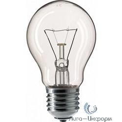354563 Лампа накаливания Philips A55 60W E27 230V лон CL