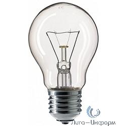 354594 Лампа накаливания Philips A55 75W E27 230V лон CL