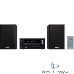 Pioneer X-HM16-B,  черный {10Вт/CD/CDRW/FM/USB}