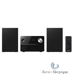 Pioneer X-EM16-B {черный 10Вт/CD/CDRW/FM/USB}