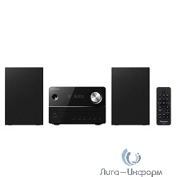 Pioneer X-EM26-B черный {10Вт/CD/CDRW/FM/USB/BT}