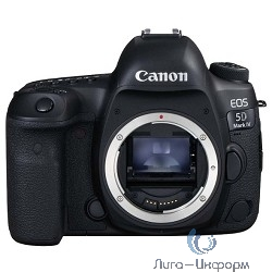 "Canon EOS 5D Mark IV черный {30.4Mpix 3.2"" 1080p 4K CF Li-ion (без объектива)}"