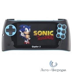 """SEGA Genesis Gopher 2 LCD 4.3"""", +500 игр (синяя)"""