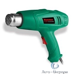 Hammer Flex HG2000LE Фен технический [378204] {2000Вт 350/600С  300/500л/мин  насадки, тепл.защита}