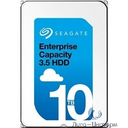 "10TB Seagate Enterprise Capacity 3.5 HDD (ST10000NM0096) {SAS 12Gb/s, 7200 rpm, 256mb buffer, 3.5"", геливый}"
