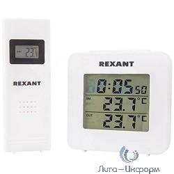 REXANT 70-0595 {Метеостанция с беспроводным выносным датчиком}
