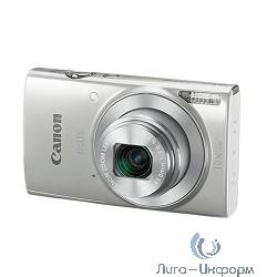 """Canon IXUS 190 серебристый {20Mpix Zoom10x 2.7"""" 720p SDXC CCD 1x2.3 IS opt 1minF 0.8fr/s 25fr/s/WiFi/NB-11LH}"""