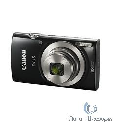"Canon IXUS 185 черный {20Mpix Zoom8x 2.7"" 720p SD CCD 1x2.3 IS el 1minF 0.8fr/s 25fr/s/NB-11LH}"