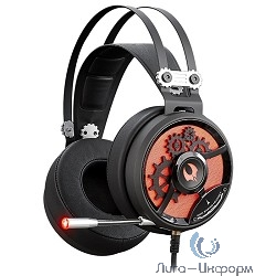 A4 Bloody M660,  мониторы, черный  / красный [m660 b/r]