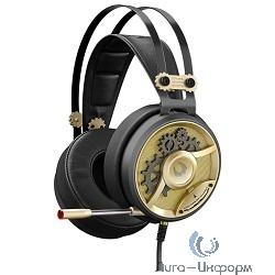 A4 Bloody M660 черный/бронзовый/GOLD 1.2м мониторы оголовье (A4TECH M660)