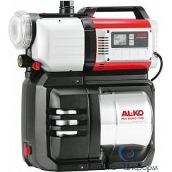AL-KO HW 6000 FMS Premium { 1400 Вт., 8м/60м, 6000 л/ч, нерж.бак 20 л, 5-ступенч., 20,8кг, эл.система управ., XXL-фильтр } /НАСОСНЫЕ СТАНЦИИ/