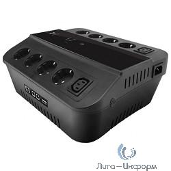 3Cott ИБП Cascade 3C-650-SPB 650VA/360W, линейно-интерактивный, управляемый, 3-х ступенчатый {0369152}