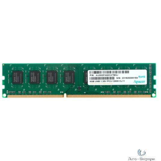 Apacer DDR3 DIMM 8GB (PC3-12800) 1600MHz AU08GFA60CATBGJ 1.35V