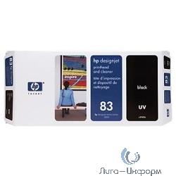 C4960A Набор HP 83 Black UV печатающая головка + устройство очистки для Designjet 5000
