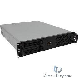 """Exegate EX234955RUS Серверный корпус Exegate Pro 2U2088 <RM 19"""",  высота 2U, 600W, USB>"""