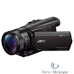 SONY FDR-AX100, черный,  Flash [fdrax100eb.cee]