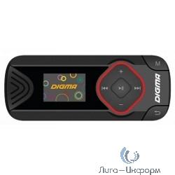 """436167 Плеер Flash Digma R3 8Gb черный/0.8""""/FM/microSD"""