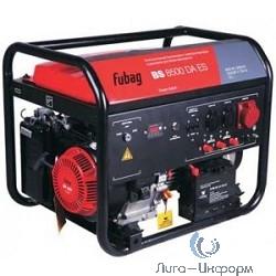 FUBAG BS 8500 DA ES [838254] Электростанция бензиновая с электростартером и коннектором автоматики 25  л., 110 кг.