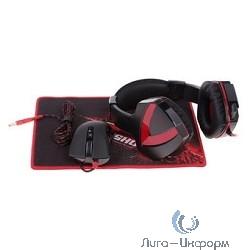 A4 G500+A91+B-072 черный/красный 2.2м мониторы оголовье (A91G5PB72)