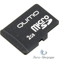Micro SecureDigital 2Gb QUMO QM2GMICSDNA {без адаптера}