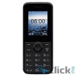 Philips E106 Black Мобильный телефон { черный моноблок 2Sim 1.77