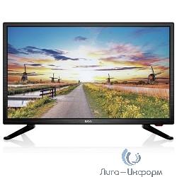 """BBK 22"""" 22LEM-1027/FT2C черный {FULL HD/50Hz/DVB-T/DVB-T2/DVB-C/USB (RUS)}"""