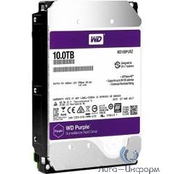 """10TB WD Purple (WD100PURZ) {Serial ATA III, 5400- rpm, 64Mb, 3.5""""}"""