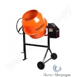 PATRIOT БМ 182С Бетоносмеситель { Объем готовой смеси 180 кг., мощность 500 Вт, чугунный венец, металлический кожух электродвигателя, вес 62 кг }