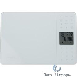 FIRST 6407-1 Весы кухонные, электр.ЖК-диспл., 5 кг, 1 гр, тарокомпенсация,база пищевой ценности,White