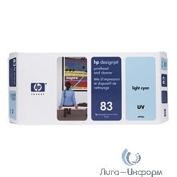 C4964A Набор HP 83 Light Cyan UV печатающая головка + устройство очистки для Designjet 5000