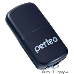 USB 2.0 Perfeo Card Reader Micro SD PF-VI-R009 Black