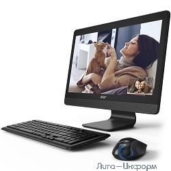 "Acer Aspire C20-720 [DQ.B6ZER.009] White 19.5"" {HD+ Pen J3710/4Gb/500Gb/DVDRW/DOS/k+m}"