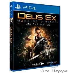 Deus Ex: Mankind Divided Day One Edition (русская версия)