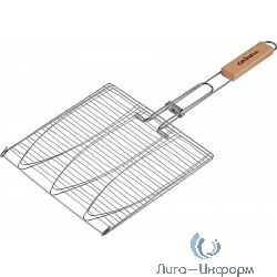 """GRINDA Решетка-гриль """"BARBECUE"""", для рыбы, трехместная [424721]"""