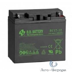 B.B. Battery Аккумулятор BC 17-12 (12V 17Ah)
