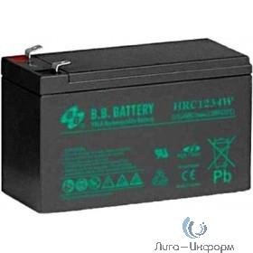B.B. Battery Аккумулятор HRC 1234 12V 9Ah (12V 9Ah)