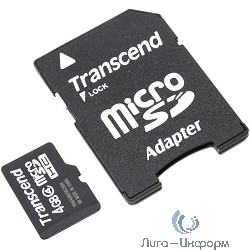 SecureDigital 4Gb Transcend TS4GSDHC4 {SDHC Class 4}