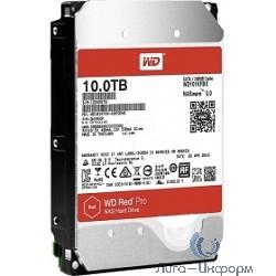 """10TB WD Red Pro (WD101KFBX) {Serial ATA III, 7200- rpm, 256Mb, 3.5""""}"""