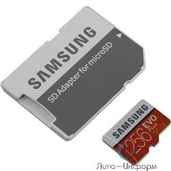 Micro SecureDigital 256Gb Samsung EVO Plus v2 Class 10 MB-MC256GA/RU {MicroSDXC Class 10 UHS-I U3, SD adapter}