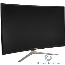 "Asus 31.5"" VA327H Gold+Black {VA LED изогнутый, 1920x1080, 4ms, 250cd/m2, 100Mln:1, 178°/178°, D-Sub, HDMI*2, колонки} [90LM03D1-B01170]"