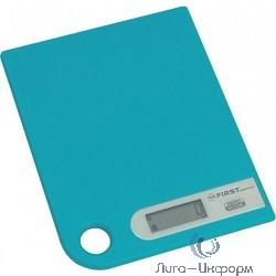 FIRST FA-6401-1-BL Весы кухонные, электронные, пластик, 5 кг, голубой