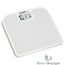 FIRST FA-8020-WI Весы напольные, механические , пластик., 130 кг, 1 кг