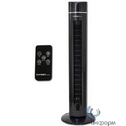 FIRST (FA-5560-2 Black) Вентилятор напольный Мощность  60 Вт.Пульт дистанционного управления  Black