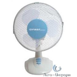 """FIRST (FA-5550-BU) Вентилятор настольный Мощность  25 Вт.Диаметр 9"""""""" / 23 см."""