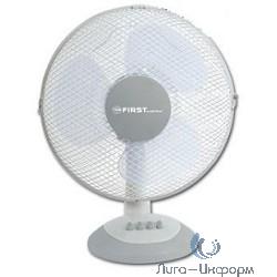 """FIRST (FA-5551-GR) Вентилятор настольный Мощность  35 Вт.Диаметр 12"""""""" / 30 см."""