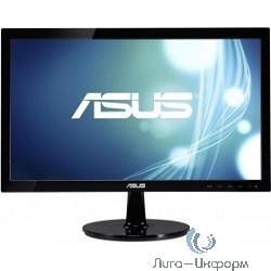 """ASUS LCD 19.5"""" VS207DF черный {LED, Wide, 1366x768, 5ms, 90°/65°, 200 cd/m, 80,000,000:1 D-Sub}"""