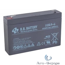B.B. Battery Аккумулятор HR 9-6 (6V 9(8)Ah)